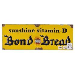Bond Bread Porcelain Signs