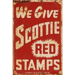 Scottie Stamps Inc. Double Sided Sign