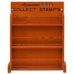 Orange Collect Stamps Rack