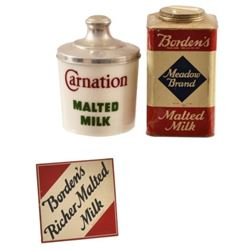 Borden's & Carnation Milk Advertising