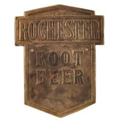 Rochester Root Beer Embossed Sign