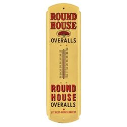 Round House Overalls Thermometer