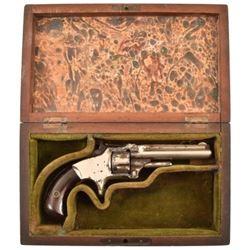 Cased Smith & Wesson No. 1 Revolver .22