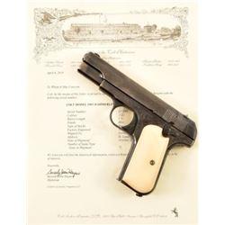 Factory Engraved Colt Model 1903 Pocket .32