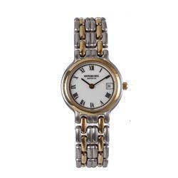 Raymond Weil Geneve Quartz Stainless Steel Wristwatch