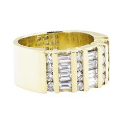 1.65 ctw Diamond Ring - 14KT Yellow Gold