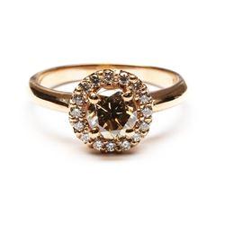 1.27 ctw Diamond Ring - 14K Rose Gold