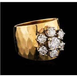 14KT Yellow Gold 1.55 ctw Diamond Ring