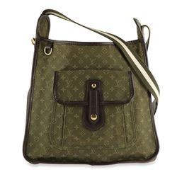 Louis Vuitton Besace Mary Kate Monogram Mini Lin Brown Cotton Canvas Cross Body