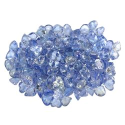 17.74 ctw Round Mixed Tanzanite Parcel