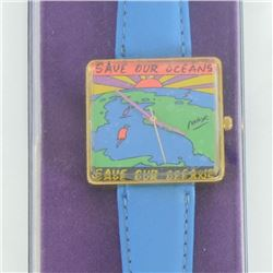 Peter Max Watch (Save Our Oceans) by Max, Peter