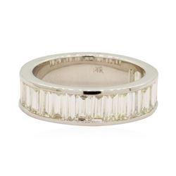 2.54 ctw Diamond Band - 14KT White Gold