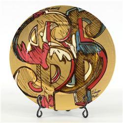 "Dollar Signs - Homage by ""Ringo"" Daniel Funes"