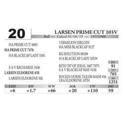 Larsen Prime Cut 103V