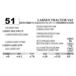 Larsen Tractor V62