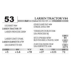Larsen Tractor V84
