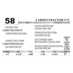 Larsen Tractor V71