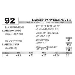 Larsen Powerade V111