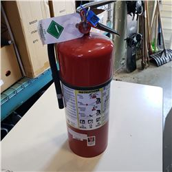 CHARGED DRY CHEMICAL FIRE EXTINGUISHER
