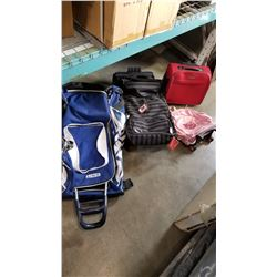 7 LUGGAGE BAGS