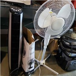 FLOOR FAN, TABLE FAN, AND TOWER FAN WITHOUT BASE