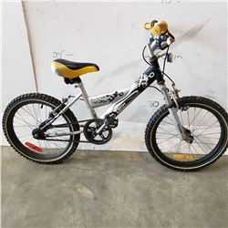 BLACK GREY TECH TEAM KIDS BIKE