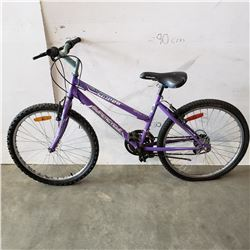 PURPLE SUPERCYCLE BIKE