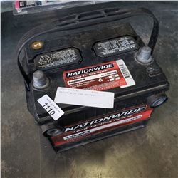 NATION WIDE CAR BATTERY