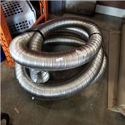 COIL OF METAL DUCT HOSE
