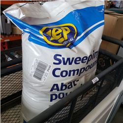 50LB OF ZEP COMMERICIAL SWEEPING COMPOUND