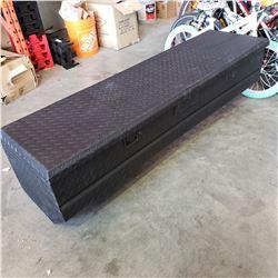 BLACK CHECKER PLATE TRUCK BOX
