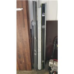 LOT OF METAL AND PVC PIPES