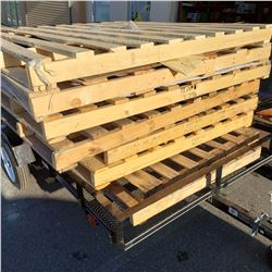LOT OF 82 INCH WIDE PALLETS