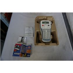 BROTHER PTOUCH HAND HELD LABEL PRINTER