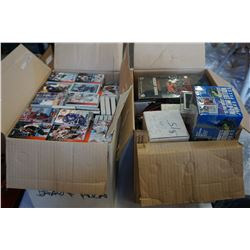2 BOXES OF HOCKEY CARDS AND NEW HOCKEY PACKS