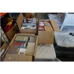 3 BOXES OF HOCKEY AND OTHER CARDS, MCDONALDS CARD PACKS