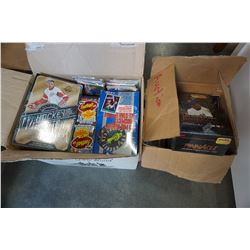 SEALED BOX OF 1992 BASEBALL CARDS, HOCKEY CARDS, FOOTBALL CARDS AND OTHER CARDS