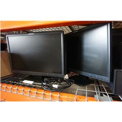 6 LENOVO 22 INCH MONITORS