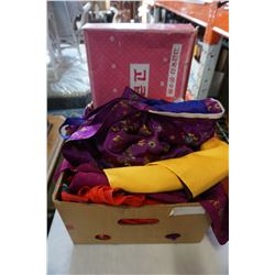 BOX OF KIMONOS