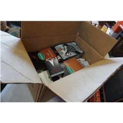 CASE OF NEW PARKHURST 91 SERIES 1 PACKS WHL 1990-91 PACKS, HARLEY DAVISON AND OTHER CARDS