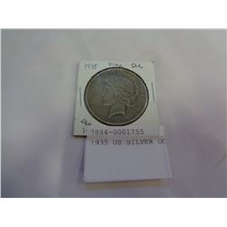1935 US SILVER DOLLAR
