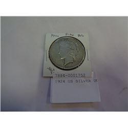 1924 US SILVER DOLLAR