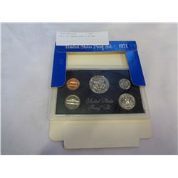 1971 US PROOF SET 5 COINS
