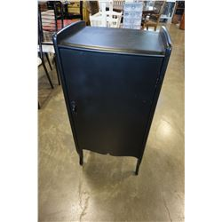 PAINTED VINTAGE RECORD CABINET