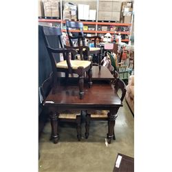 POTTERYBARN DINING TABLE W/ 2 LEAVES AND 8 CHAIRS