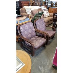 PAIR OF MCM BENTWOOD CHAIRS