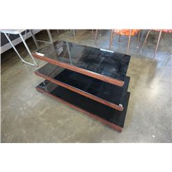 NEW MODERN 3 TIER TV STAND, RETAIL $249