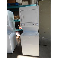 HEAVY DUTY STACKER WASHER DRIER - TESTED AND WORKING