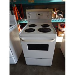 WHITE FRIGIDAIRE OVEN WITH RANGE - TESTED AND WORKING