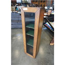 VINTAGE 3 TIER DISPLAY CABINET